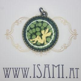 Baum des Lebens - grün/gold - Elfe