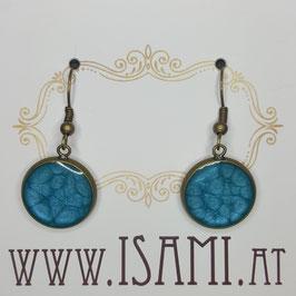 Ohrhänger - meeresblau IV