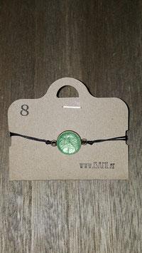 armband - klein - smaragd