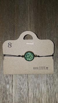 armband - klein - dunkelgrün
