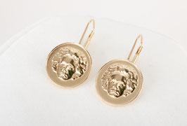 Beethovens Schönste - Ohrhänger gold glanz