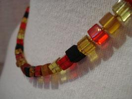 Schwarz-Rot-Gold - Würfel