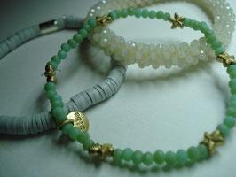 SET - 3 Armbänder auf Elastikband für Erwachsene (A1)
