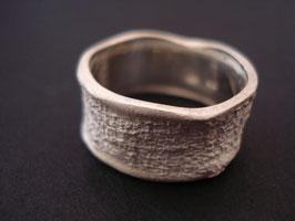 FEIN-STRUKTUR Fingerring 925er Sterling-Silber