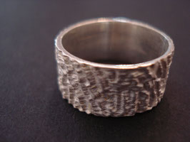 STRUKTUR Fingerring 925er Sterling-Silber