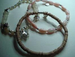SET - 3 Armbänder auf Elastikband für Erwachsene (A14)