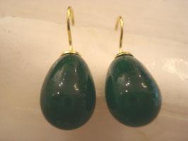 Schönes dunkles Grün mit Blaustich transparent