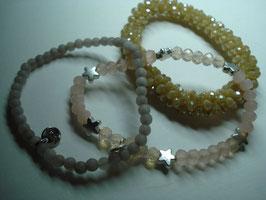 SET - 3 Armbänder auf Elastikband für Erwachsene (A13)