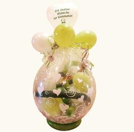 Geschenkballon / Verpackungsballon Kommunion
