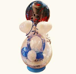 Geschenkballon / Verpackungsballon Elsa/Olaf