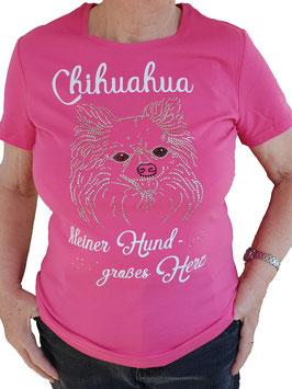 T-Shirt Chihuahua Kleiner Hund - Großes Herz