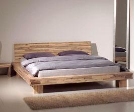 Futonbett Lima aus Akazienholz