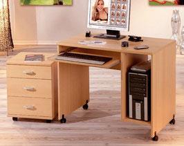 Schreibtisch in Buche-Optik