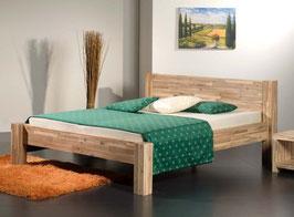 Designerbett aus Akazienholz