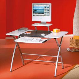 Computertisch PC-Tisch weiß