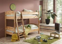 Kinderbett Buche natur, Massivholz