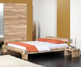 Holzbett La Pas aus Akazienholz