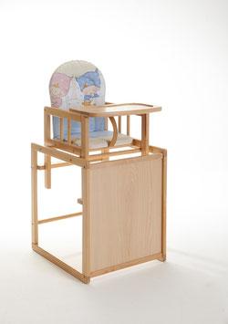 Kinderhochstuhl/Tischgruppe inkl. Sitzauflage