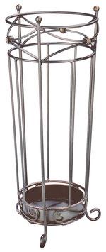 Schirmständer aus Stahl in antiker Optik
