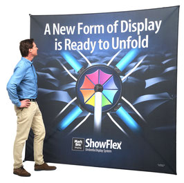 SHOWFLEX Banner-Faltwand