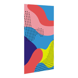 Textilgrafik BLOCK PRINT Für GO LIGHTBOX