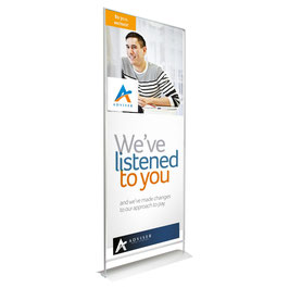 myMAGO stand up Banner Display