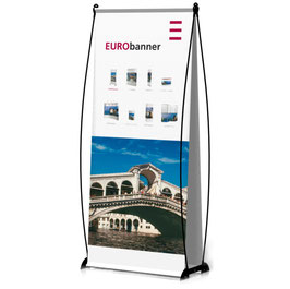 EURObanner 2-seitig Banner Display