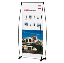 EURObanner einseitig Banner Display