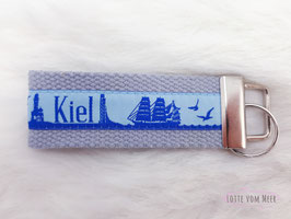 Schlüsselanhänger Kiel blau