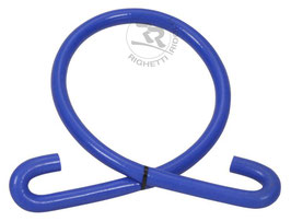 TUBO IN SILICONE 180° L.1200mm COLORE D.16/24 mm