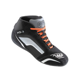 KS-3 SHOES NERO ANTRACITE