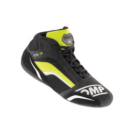 KS-3 SHOES ANTRACITE - GIALLO FLUO