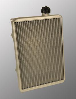 KZ004 Radiatore completo di staffe alluminio 395x290x40