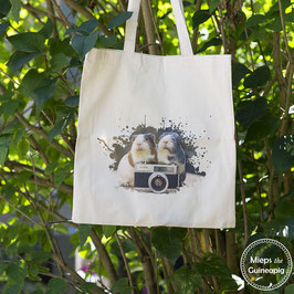 Camera Piggies tote bag