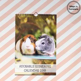 2018 Guinea Pig Calendar  (Mieps & Archie)