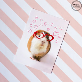 Archie Love Glasses single card (1 card)