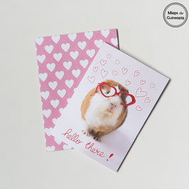 Archie Love Glasses Greeting Card (1 card)