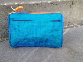Beadbags Crispy Fishnet Beautytasche türkis