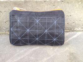 Beadbags Crispy Fishnet Beautytasche schwarz