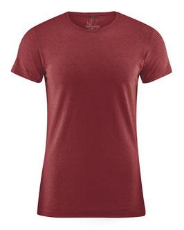 HempAge T-Shirt, m.Hanf chestnut DH245