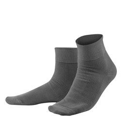 Living Crafts 100 % Baumwoll-Socken, grau 234