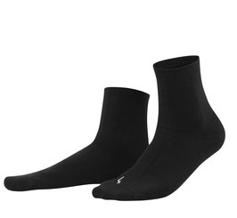 Living Crafts Sport-Socken mit Plüschsohle, 243 schwarz