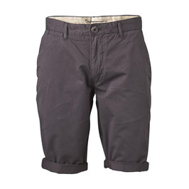 Knowledge Cotton Apparel Twisted Twill Short Phantom  50020