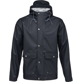Knowledge Cotton Apparel Rain Jacket blau 92044