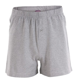 Living Crafts Boxer-Short, grau melange 4388