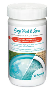 Easy Pool & SPA Chlortabs 5 Funktionen