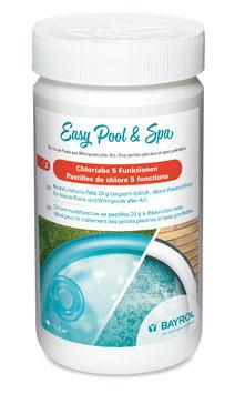 Easy Pool & SPA Chlortabs 5 Funktionen