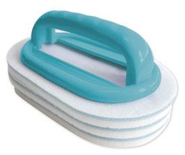 Handbürste mit austauschbaren Reinigungspads