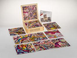 fractalphoto puzzle, 9 Teile, Motiv candy
