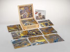 fractalphoto puzzle, 9 Teile, Motiv reflex